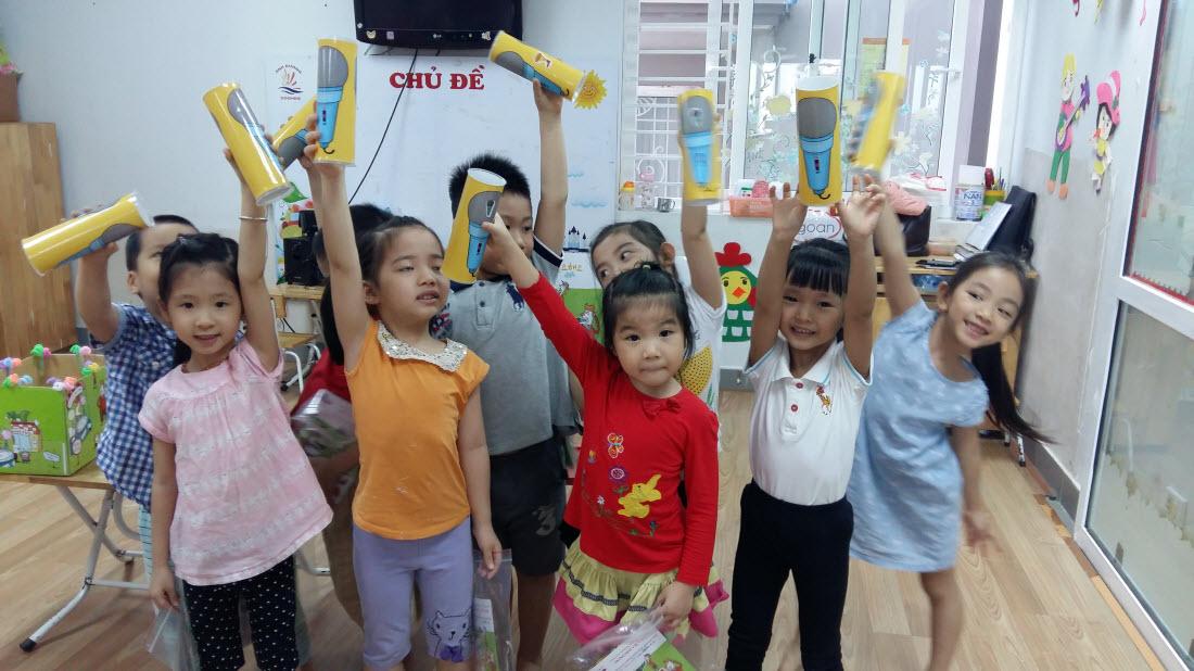 Học sinh trường mầm non Ánh Dương