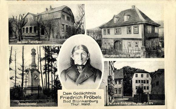Friedrich Froebel - Người đặt nền móng khai sinh ra trường mầm non tại Đức, tác giả của bộ đồ chơi GABE.