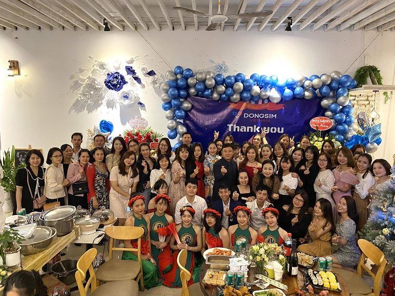 Lễ kỷ niệm 4 năm thành lập Dongsim Vietnam