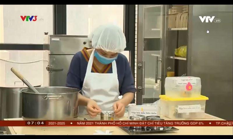 Dongsim Kindergarten thực hiện công tác lưu mẫu món ăn của trẻ hằng ngày