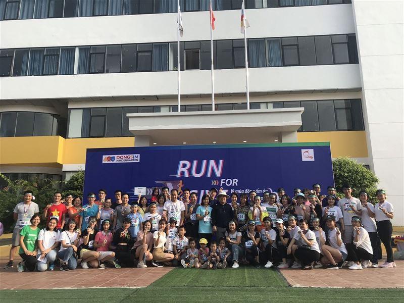 Giải chạy RUN FOR GIVE - Vì mùa đông ấm cho trẻ vùng cao