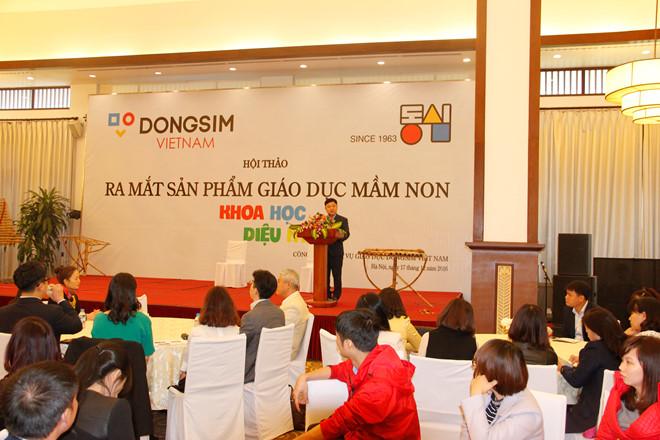 Giáo dục mầm non 2017: Điểm nhấn mang tên Dongsim Việt Nam