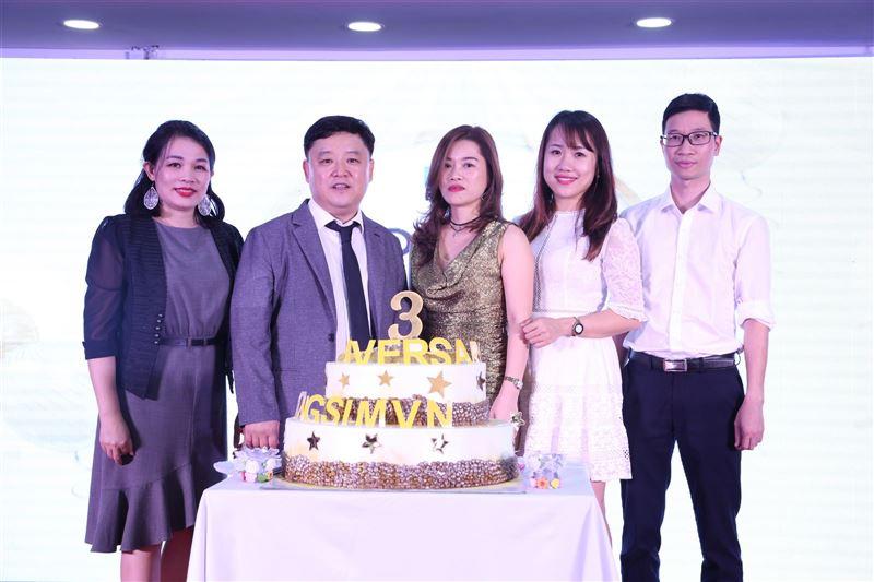 Lễ kỷ niệm 3 năm thành lập Công ty Dongsim Việt Nam