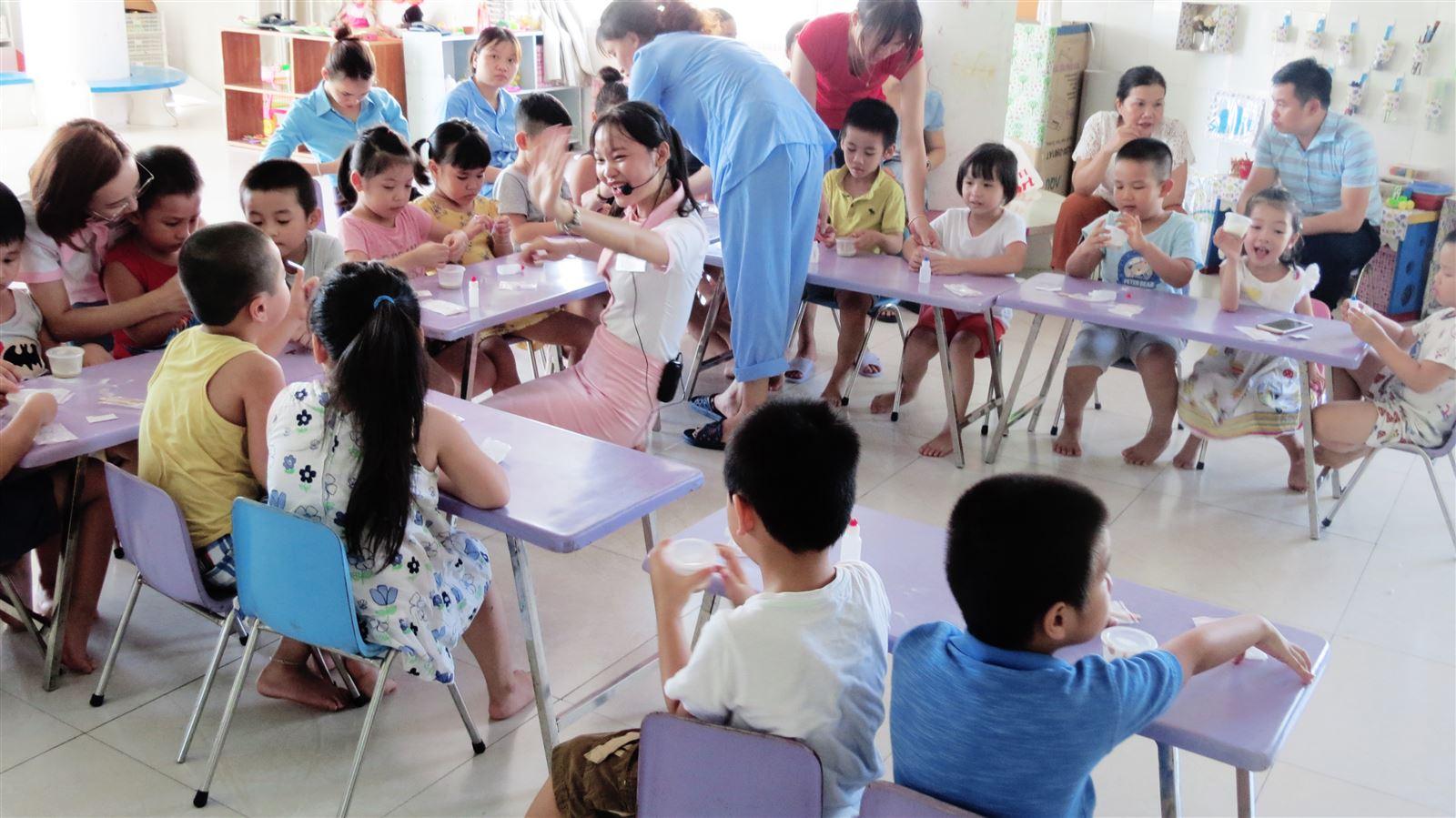 Trải nghiệm chương trình giáo dục mầm non Khoa học diệu kỳ tại trường mầm non Bé Hạnh Phúc