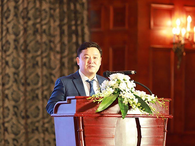Bài phát biểu của Tổng giám đốc Công ty Cổ phần Dịch vụ Giáo Dục Dongsim Việt Nam