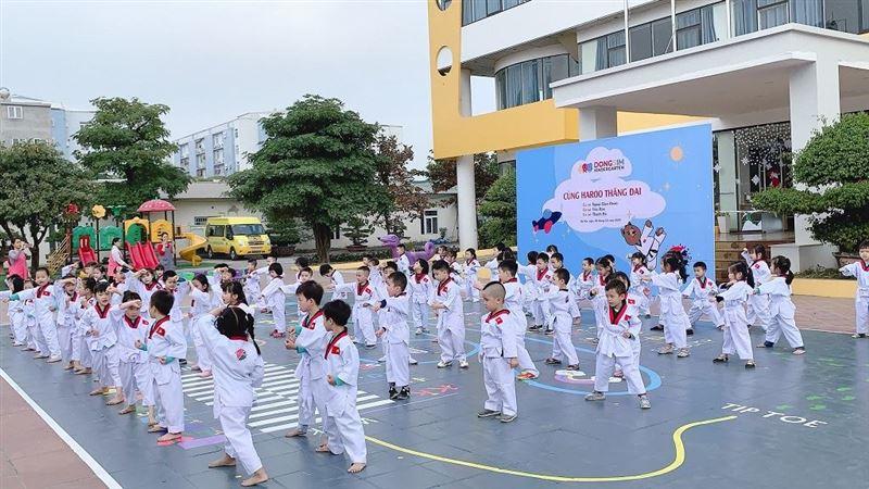 Taekwondo và những lợi ích tuyệt vời cho trẻ em lứa tuổi mầm non