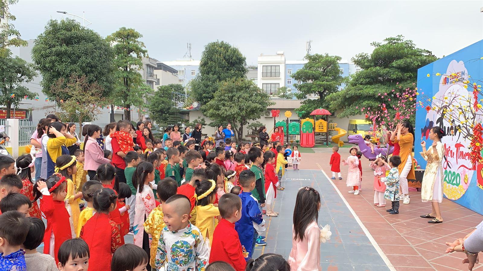 Rộn rã đón Tết Canh Tý 2020 tại Dongsim Kindergarten