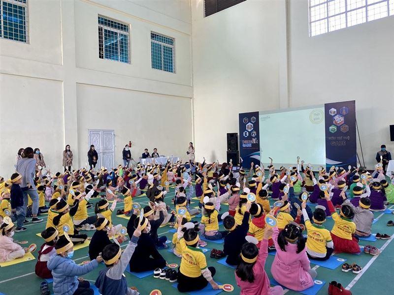 Hơn 150 học sinh mầm non tham gia Cuộc thi Siêu trí tuệ - GABE