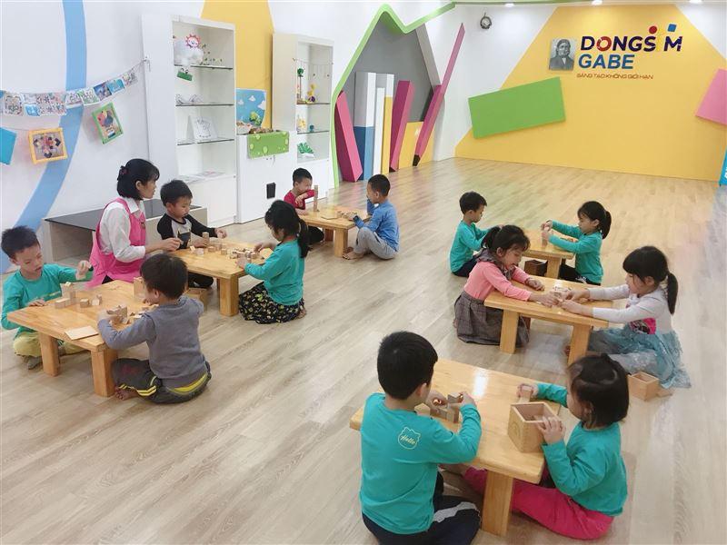 Để trẻ yên tâm sáng tạo trong môi trường an toàn mùa dịch