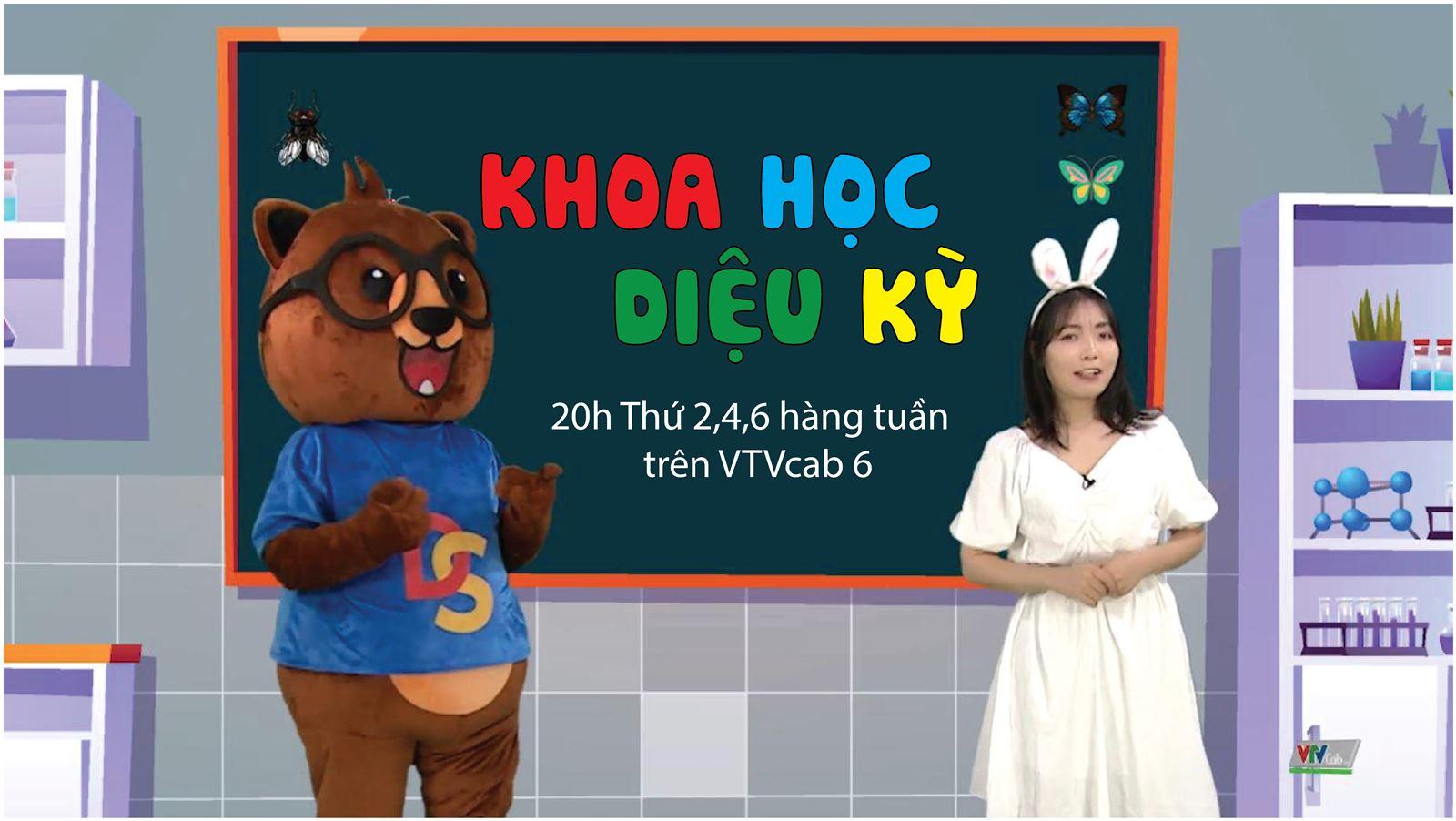 Dongsim Việt Nam ra mắt chương trình Khoa học diệu kỳ trên sóng VTVcab