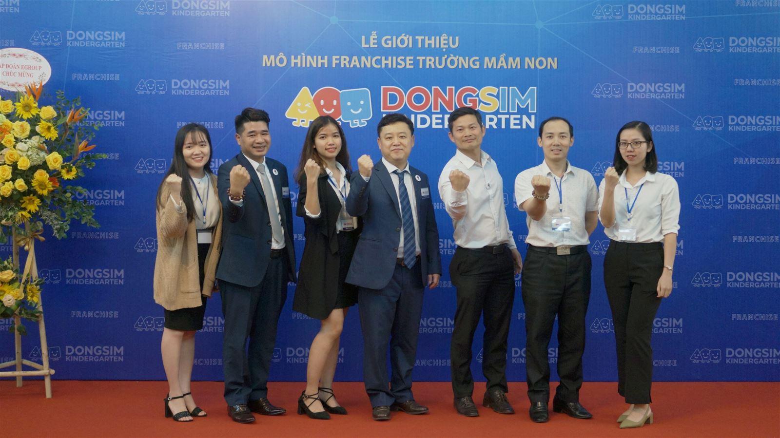 """Lễ giới thiệu mô hình franchise giáo dục """" Dongsim Kindergarten là giáo dục"""""""