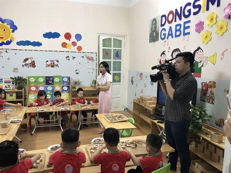 [VTV1] Dongsim GABE - Tiết học ước mơ của các bé mầm non