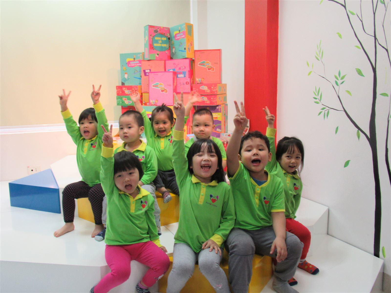 Khoa học diệu kỳ môn học giúp trẻ giải phóng năng lượng và định hình tư duy