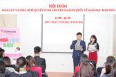 """""""Giao lưu và chia sẻ bí quyết cùng chuyên gia Hàn Quốc về giáo dục mầm non"""""""